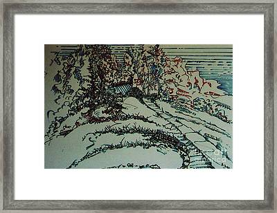 Framed Print featuring the drawing Rfb0205 by Robert F Battles