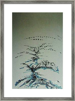 Framed Print featuring the drawing Rfb0206-2 by Robert F Battles