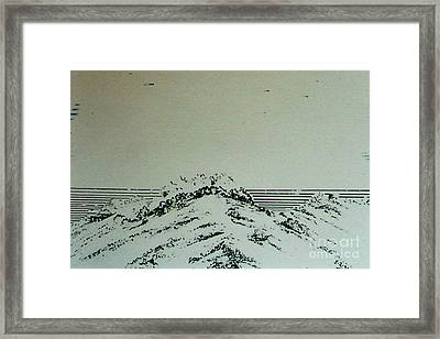Framed Print featuring the drawing Rfb0207 by Robert F Battles
