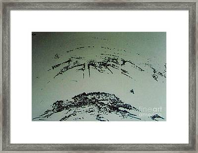 Framed Print featuring the drawing Rfb0210-2 by Robert F Battles