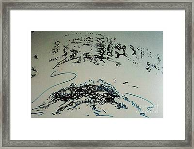 Framed Print featuring the drawing Rfb0210 by Robert F Battles