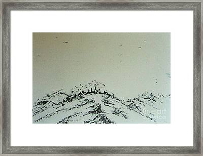 Framed Print featuring the drawing Rfb0212-2 by Robert F Battles
