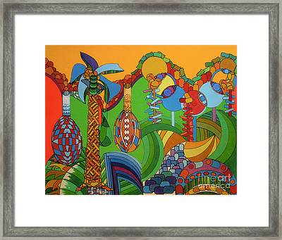 Framed Print featuring the drawing Rfb0300 by Robert F Battles