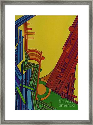 Framed Print featuring the drawing Rfb0303 by Robert F Battles