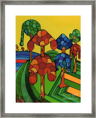 Framed Print featuring the drawing Rfb0544 by Robert F Battles