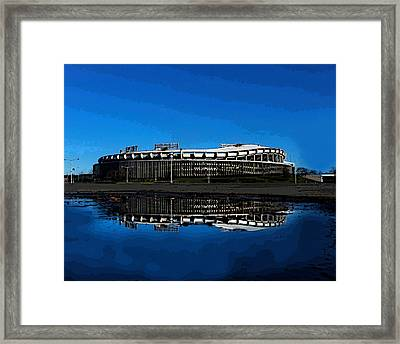 Rfk Blues Framed Print by Christopher Kerby