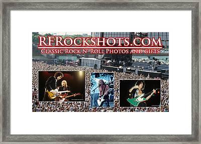 Rfrockshots Classic Rock N Framed Print by Rich Fuscia