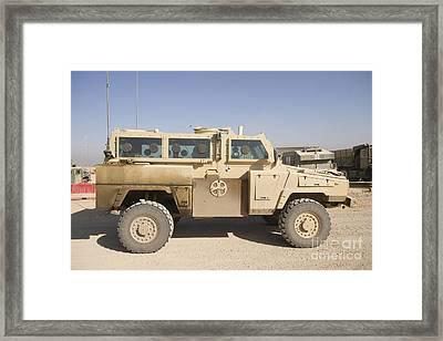 Rg-31 Nyala Armored Vehicle Framed Print