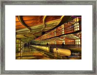 Rhapsody In Blue Framed Print by David Bearden