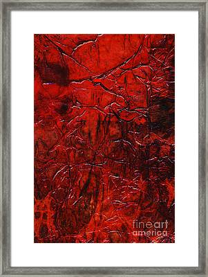 Rhapsody Of Colors 21 Framed Print