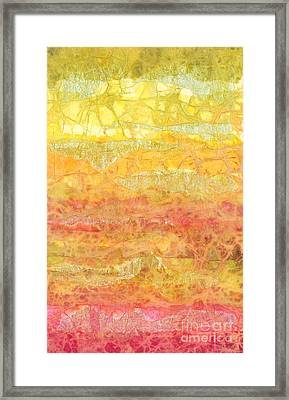 Rhapsody Of Colors 30 Framed Print