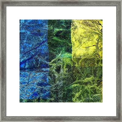 Rhapsody Of Colors 6 Framed Print