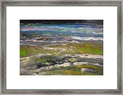 Rhapsody Of The Beach Framed Print
