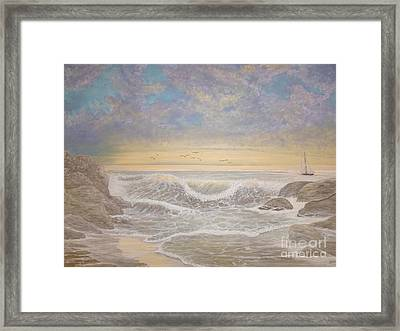Rhapsody Framed Print by Patti Lennox