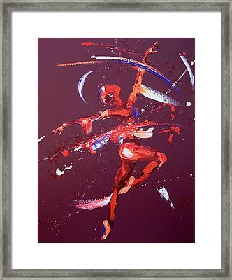 Rhapsody Framed Print by Penny Warden