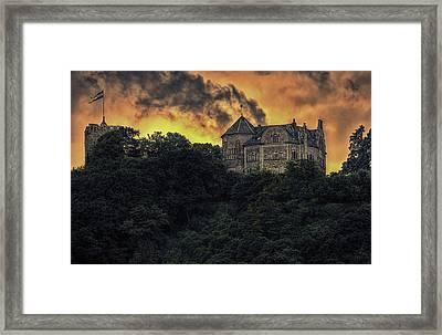 Rheineck Castle Framed Print