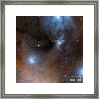 Rho Ophiuchi Cloud Complex Framed Print