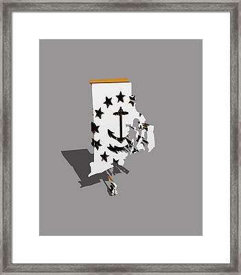 Rhode Island 6a Framed Print
