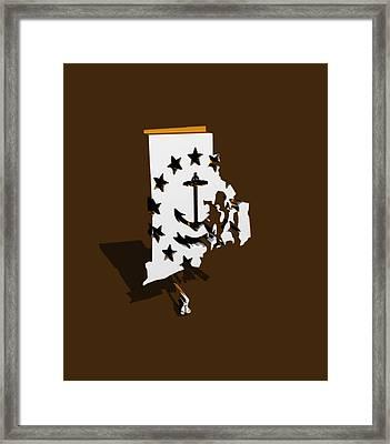 Rhode Island 6b Framed Print