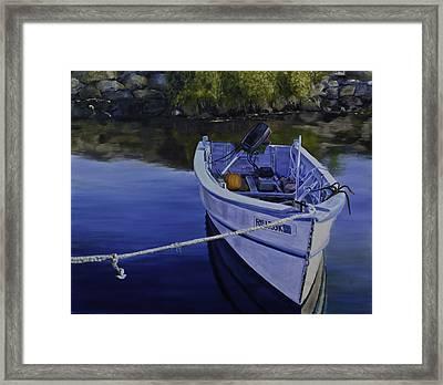 Rhode Island Inlet Framed Print by David Gorski