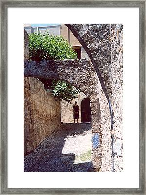 Rhodes Woman Framed Print by Andrea Simon