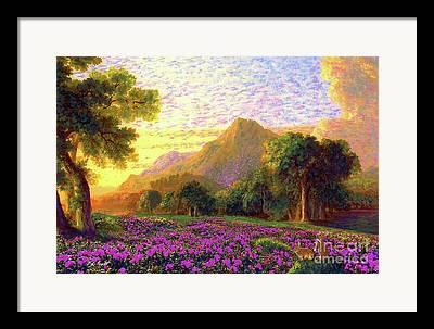 Cascade Framed Prints