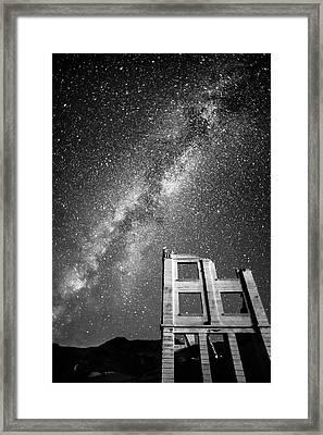 Rhyolite Stars 2 1832 Framed Print