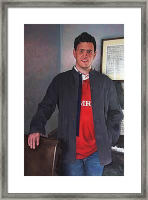 Rhys Meirion Framed Print by Harry Robertson