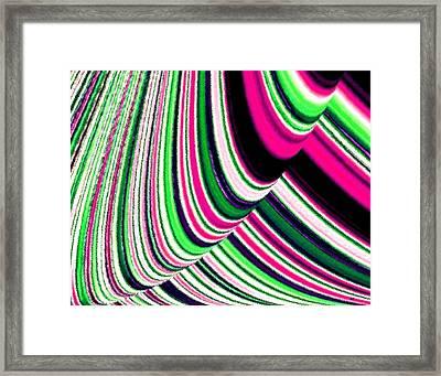 Rhythm 4 Framed Print