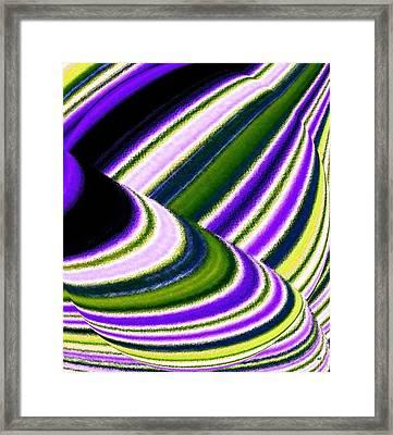 Rhythm 5 Framed Print