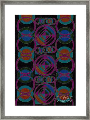 Rhythm Impression Framed Print