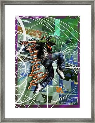Rhythm Framed Print by Nicole Street