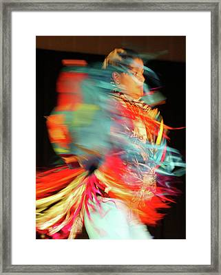Rhythm Of Dance Framed Print