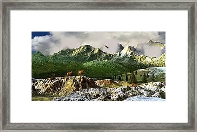 Rhythm Of Life Framed Print by Dieter Carlton