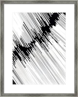 Rhythm Of Life Framed Print by Gabriela Insuratelu