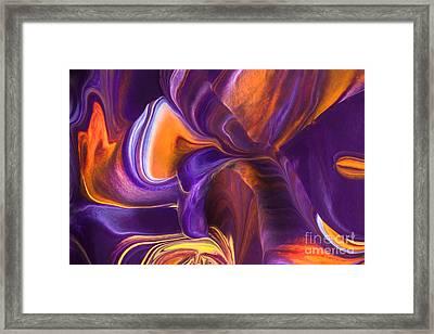Rhythm Of My Heart Framed Print