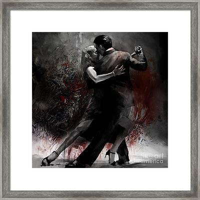 Rhythm Of Tango Framed Print