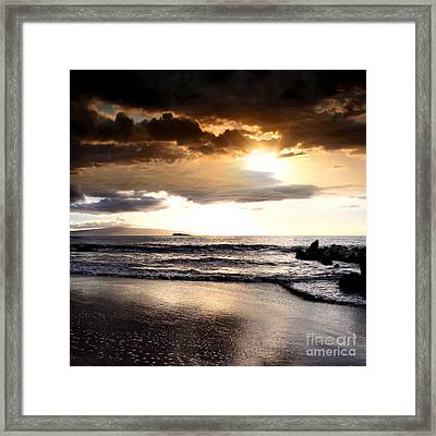 Rhythm Of The Island Framed Print