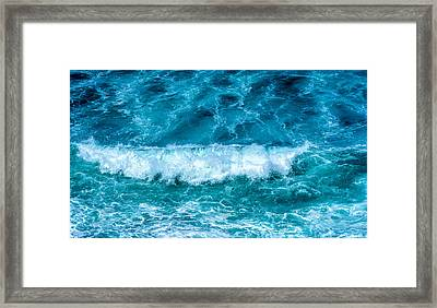Framed Print featuring the photograph Rhythm Of Waves by Marion McCristall
