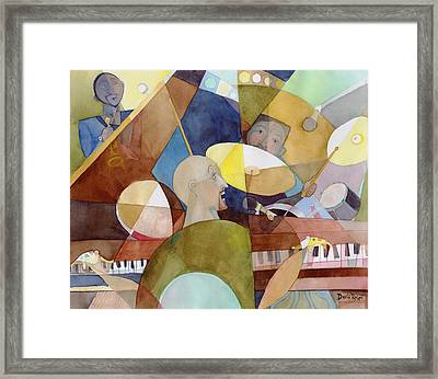 Rhythm Section Framed Print by David Ralph