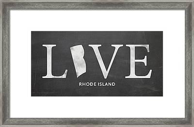 Ri Home Framed Print by Nancy Ingersoll