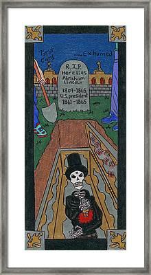 R.i. P. Exhumed Framed Print