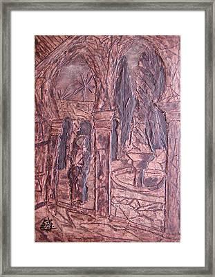 Riad 2008 Framed Print by Mohamed-Hosni Belkorchi