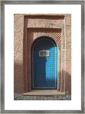 Riad Zahir Framed Print by Floyd Menezes
