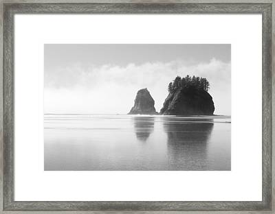 Rialto Seastacks Framed Print by Ryan Scholl