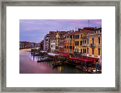 Rialto View Framed Print by Andrew Soundarajan