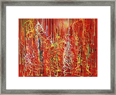 Rib Cage Framed Print by Ralph White