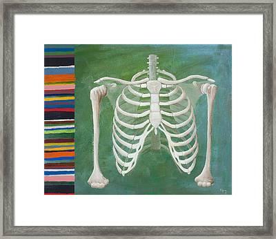 Ribbing  Framed Print by Sara Young