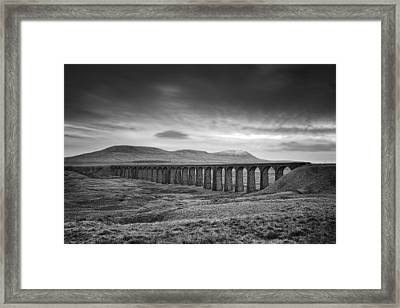 Ribblehead Viaduct Uk Framed Print by Ian Barber