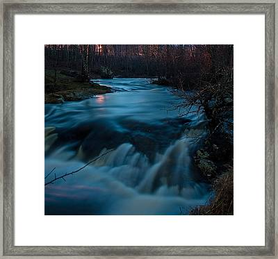 Ribbon Of Life Framed Print